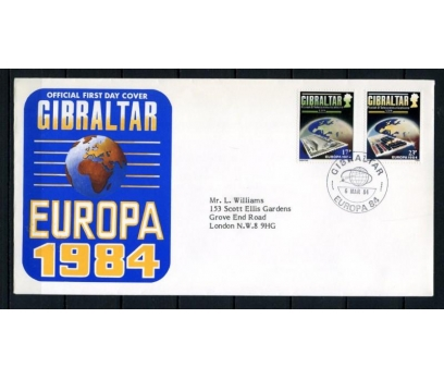 CEBELİTARIK FDC 1984 EUROPA CEPT SÜPER (090515)