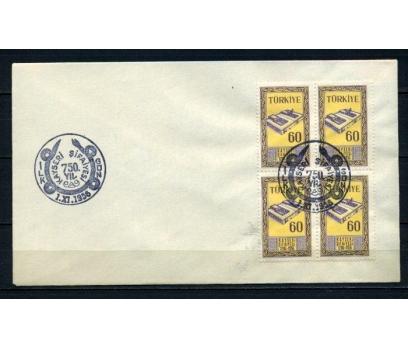 CUMH.FDC 1956 KAYSERİ ŞİFAİYESİ DBL SÜPER (210515)