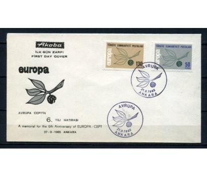 CUMH.FDC 1965 EUROPA CEPT AKOBA SÜPER (190515)