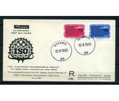 CUMH.FDC 1970 ISO GENEL KURUL AKOBA SÜPER(200515)