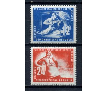 DDR ** 1950 BAKIR MADENCİLİĞİ TAM SERİ  (110515)
