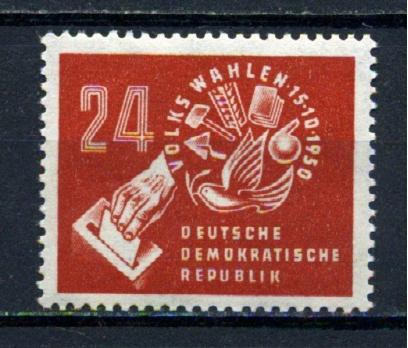DDR ** 1950 SEÇİMLER TAM SERİ SÜPER  (110515)