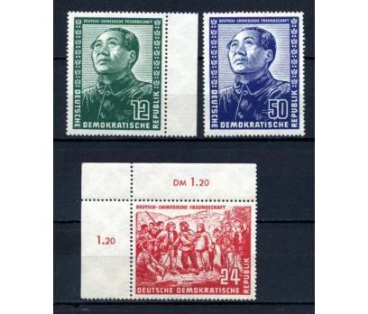 DDR ** 1951 ÇİN & MAO İLE DOSTLUK TAM S. (110515) 1