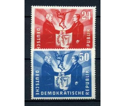 DDR ** 1951 POLONYA İLE BARIŞ TAM S.SÜPER (110515)