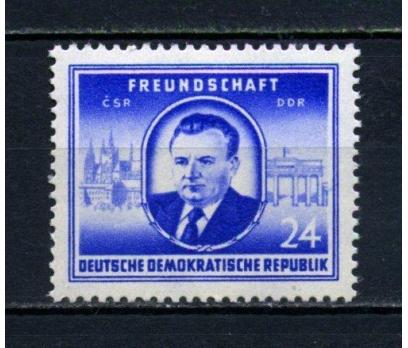 DDR ** 1952 ÇEKOSLAV. İLE DOSTLUK TAM SERİ(110515)
