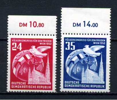 DDR ** 1952 HALK KONGRESİ TAM SERİ SÜPER (110515)