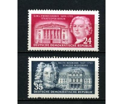 DDR ** 1953 ÜNLÜ MİMARLAR TAM SERİ SÜPER (110515)