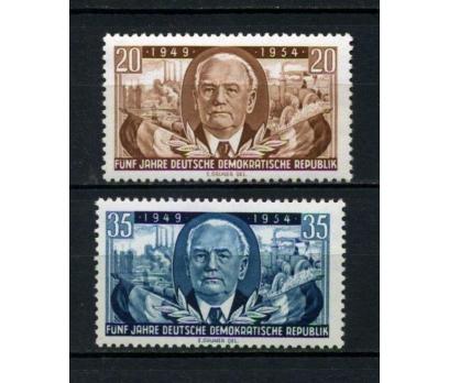 DDR ** 1954 DOĞU ALMANYA 5.YIL TAM SERİ  (120515)