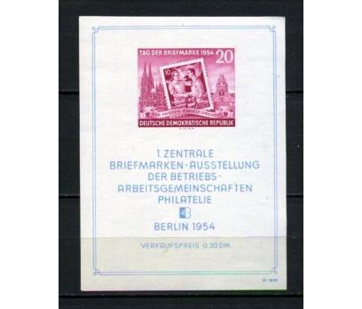 DDR ** 1954 PUL GÜNÜ BLOK SÜPER (120515)