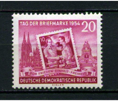 DDR ** 1954 PUL GÜNÜ TAM SERİ SÜPER (120515)
