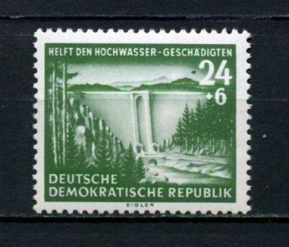 DDR ** 1954 SEL ÖNLEMİ TAM SERİ  (120515)