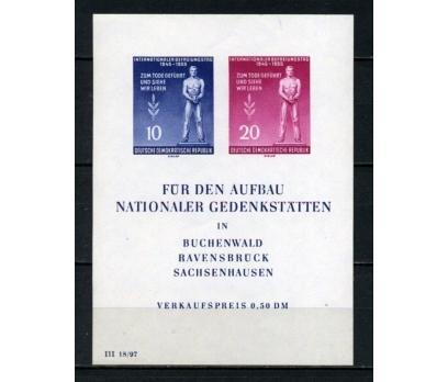 DDR ** 1955 FAŞİZMDEN KURTULUŞ BLOK SÜPER(120515)
