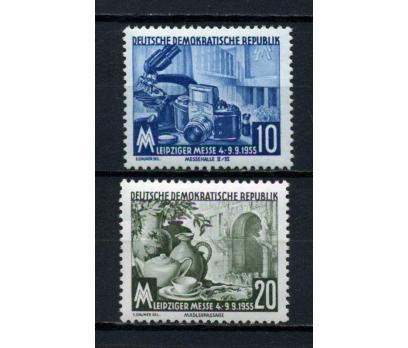 DDR ** 1955 LEİPZİG FUARI TAM SERİ  (120515)