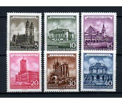 DDR** 1955 TARİHİ YAPILAR TAM SERİ(120515)