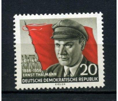 DDR ** 1956 ERNST THALMANN 70.D.Y.TAM SERİ(120515)