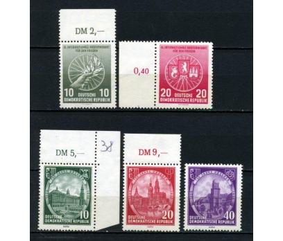 DDR ** 1956 İKİ FARKLI TAM SERİ SÜPER (120515)