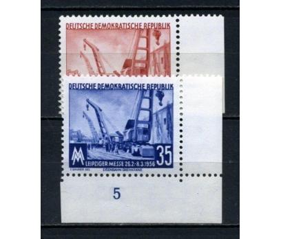 DDR ** 1956 LEİPZİG FUARI TAM SERİ  (120515)