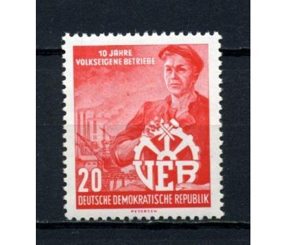 DDR ** 1956 VEB 10.YIL TAM SERİ SÜPER (120515)