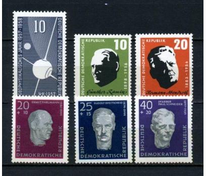 DDR ** 1957 TEMATİK 3 TAM SERİ (130515)