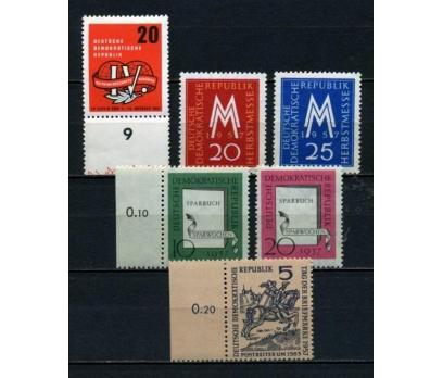 DDR ** 1957 TEMATİK 4 TAM SERİ (130515)