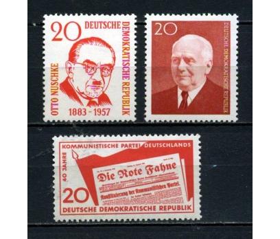 DDR ** 1958-59 TEMATİK 3 TAM SERİ SÜPER (130515)