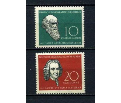 DDR ** 1958 DARWİN & LİNNE TAM SERİ SÜPER (130515)