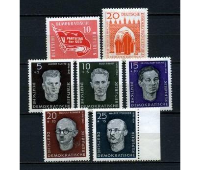 DDR ** 1958 TEMATİK 3 TAM SERİ (130515)