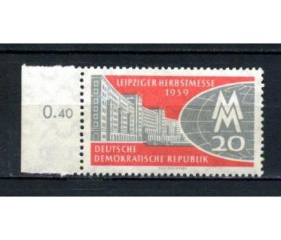 DDR ** 1959 LEİPZİG FUARI TAM SERİ SÜPER(160515)
