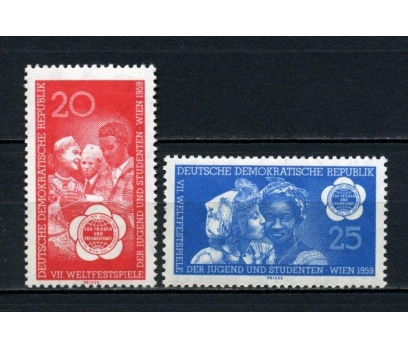 DDR ** 1959 ÖĞRENCİ BİRLİĞİ TAM SERİ SÜPER(160515)