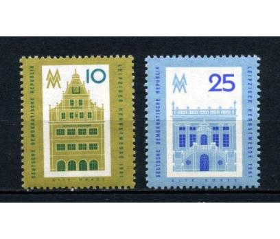 DDR ** 1961 LEİPZİG FUARI TAM SERİ SÜPER (170515)
