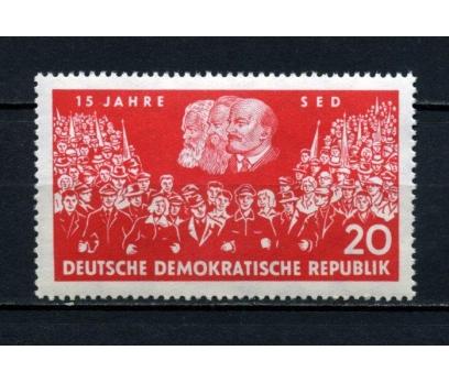DDR ** 1961 SOSYALİST P.15.YIL TAM SERİ (160515)