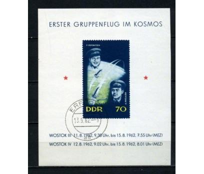 DDR İLK GÜN D. 1962 UZAY BLOK SÜPER (170515)