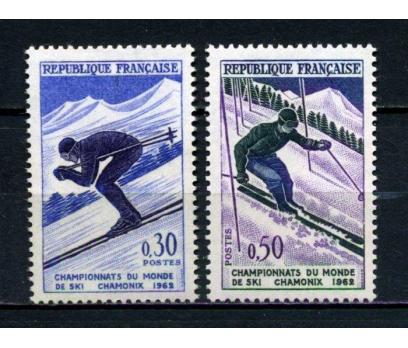 FRANSA ** 1962 KAYAK TAM SERİ SÜPER (230515) 1