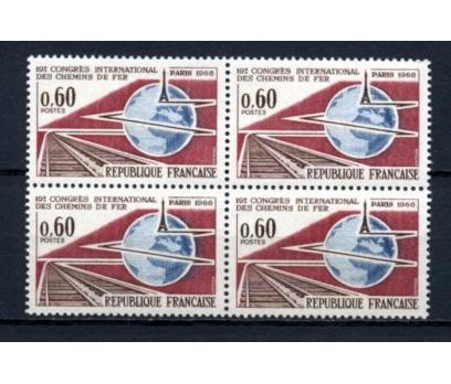 FRANSA ** 1966 DEMİRYOLU KONGR DBL TAM S. (230515)