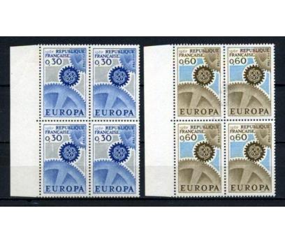 FRANSA ** 1967 EUROPA CEPT DBL TAM SERİ (230515)