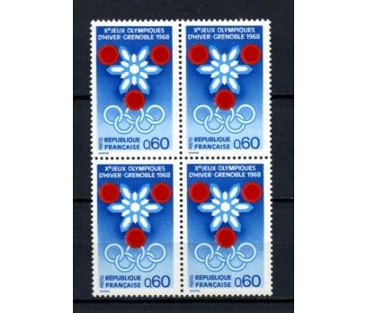 FRANSA** 1967 GRENOBLE KIŞ OY.DBL TAM SERİ(230515)