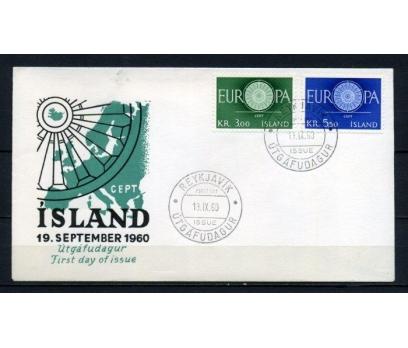 İZLANDA FDC 1960 EUROPA CEPT SÜPER (100515)