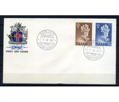 İZLANDA FDC 1960 MÜLTECİLER YILI SÜPER (100515)