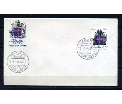 İZLANDA FDC 1964 ARMA SÜPER (100515)