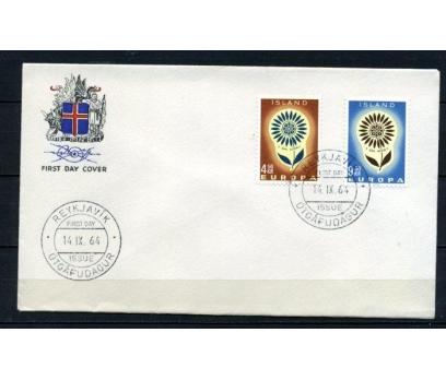 İZLANDA FDC 1964 EUROPA CEPT SÜPER (100515)