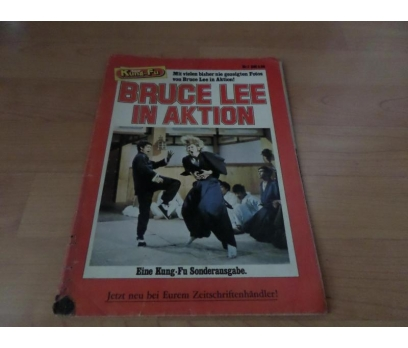 KUNG FU BRUCE LEE IN AKTION YABANCI DERGİ