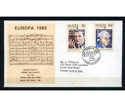 MALTA FDC 1985 EUROPA CEPT SÜPER (090515)