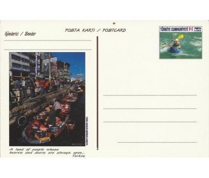 1998 TURİZM KONULU POSTA KARTI BALIKÇI
