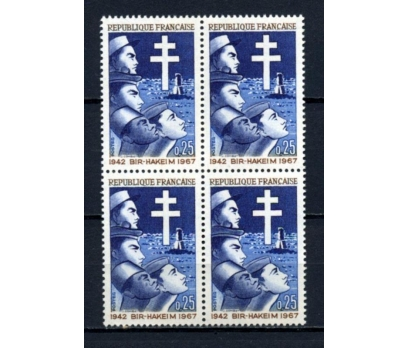 FRANSA ** 1967 ANIT  DBL TAM S.(020615)