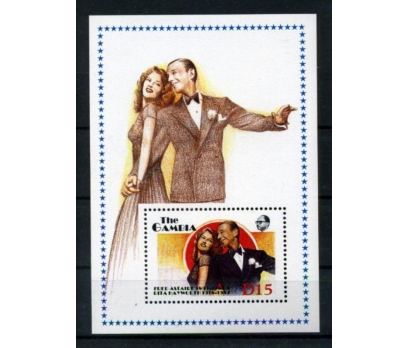 GAMBİA** FRED ASTAIRE & RITA HAYWORTH BL(010615)
