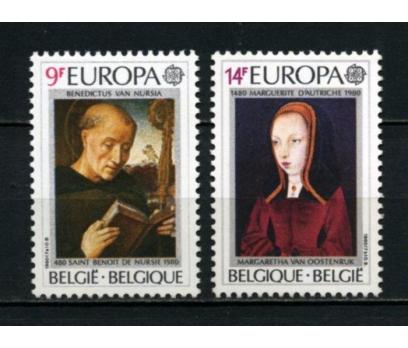 BELÇİKA ** 1980 EUROPA CEPT TAM SERİ(110615)