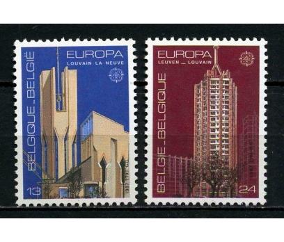 BELÇİKA ** 1987 EUROPA CEPT TAM SERİ (220615)