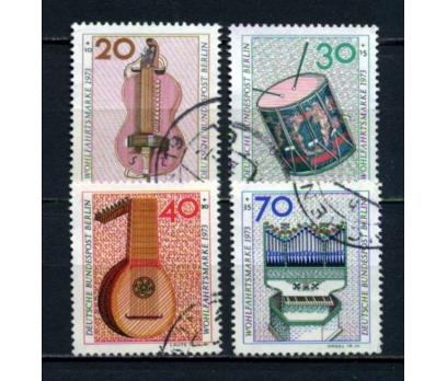 BERLİN DAMGALI 1973 ENSTRÜMANLAR TAM SERİ (060615)