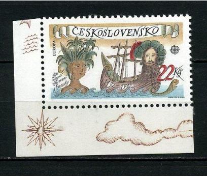 ÇEKOSLOVAKYA ** 1992 EUROPA CEPT TAM SERİ(260615)