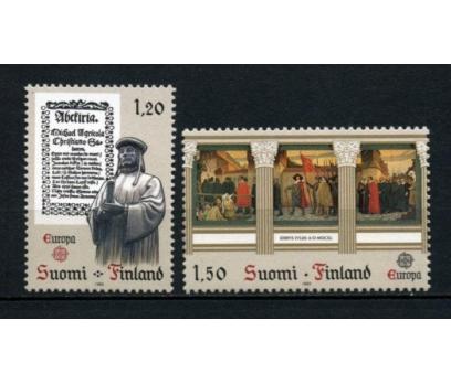 FİNLANDİYA ** 1982 EUROPA CEPT TAM SERİ(110615)